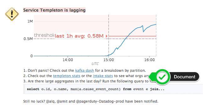 Runbook Devops Alert Documentation