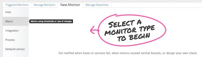 NGINX metric monitor